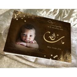 Livre d'or Mashallah - Marron