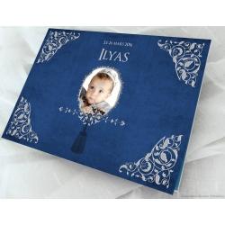 Livre d'or Petit Prince - Bleu