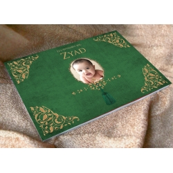 Livre d'or Petit Prince - Vert