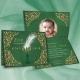 Faire-part Petit Prince - vert et or