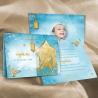 Faire-part Aladin - Turquoise