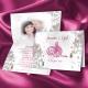 Faire-part Orchidées Bismillah - Blanc