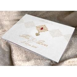 Livre d'or Bijoux - Rouge