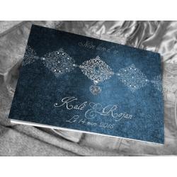 Livre d'or Bijoux - Bleu