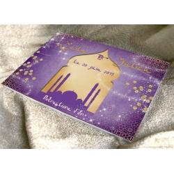 Livre d'or Nuit d'Orient - Violet