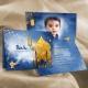 Faire-part Aladin - Bleu