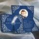 Faire-part Petit Prince - Bleu