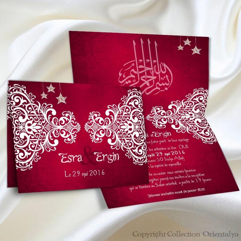 faire part oriental de mariage pictures to pin on pinterest - Fair Part Mariage Oriental