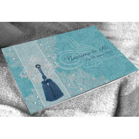Livre d'or Sultana - Bleu