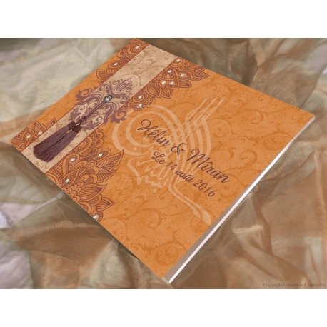 Livre d'or Sultana - Orange