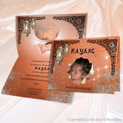 Faire-part Rayane