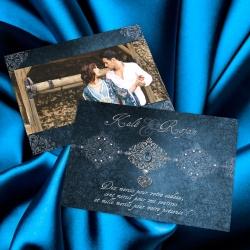 Remerciement Bijoux - Bleu