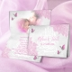 Faire-part Papillons - Rose
