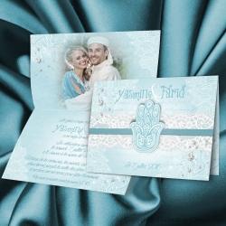 Faire-part Fatma - Turquoise