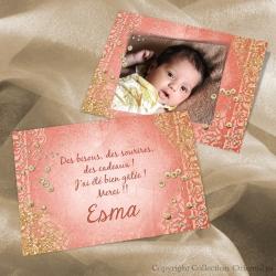 Remerciement Esma