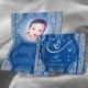 Faire-part Mashallah - Bleu