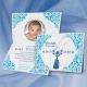Faire-part de circoncision Petit Prince - Bleu turquoise